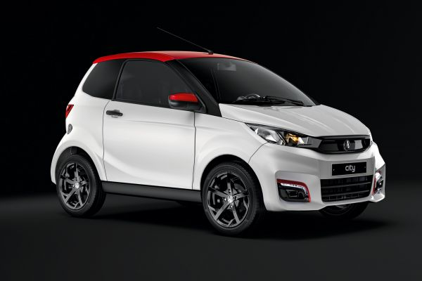 Coches  Sin Carnet City Sport lateral